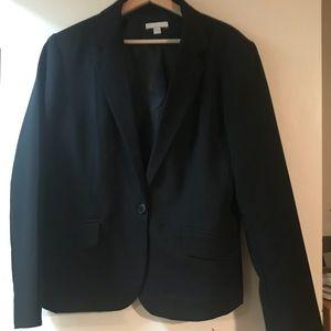 New York and Company Black Black Blazer, Size 18